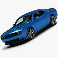 2015 dodge challenger 3d 3ds