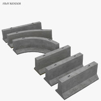 modular jersey barrier highway 3ds