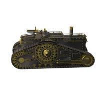 steampunk tank 3d fbx