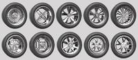 Car Wheel Rims Pack 1