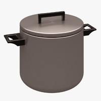 kitchen accessorie cooker 3d model