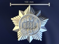 3d medal best boss