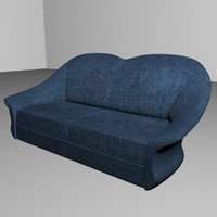 sofa interior obj
