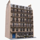 apartment building 3D models