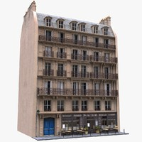3d france tenement model