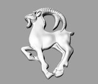 3d zodiac capricorn