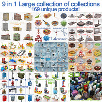 Large Collection Of Collections 9 in 1