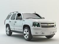 3d model chevrolet tahoe studio
