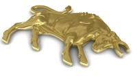 3d zodiac taurus model