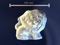 3ds max lion mold hand