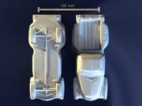 3d chevrolet pickup model