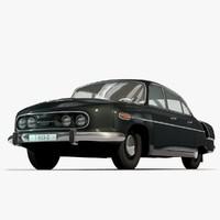 c4d tatra 603 luxury sedans