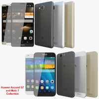 realistic huawei ascend g7 3ds