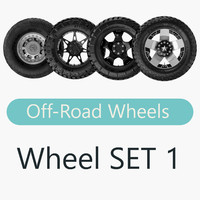Off Road Wheels SET