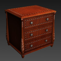 nightstand night 3d model
