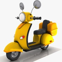 Cartoon Motorcycle 2