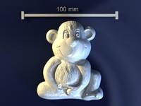 max monkey mold hand
