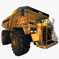 belaz truck 3d 3ds