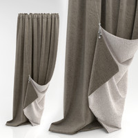 curtains 3d model