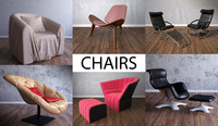 chair furniture architecture 3d 3ds