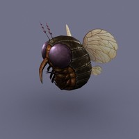 Fly Round cartoon insect