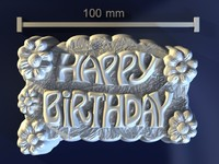 birthday 3D models