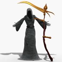 reaper death grim 3d max