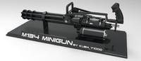 maya m134 minigun