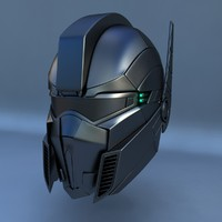 robot head c 3d max