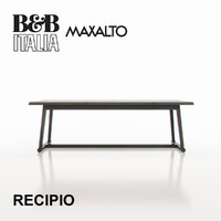 3d b italia maxalto recipio model