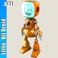 Little Bit Cabby Robot