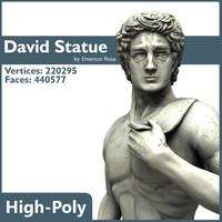 High-Poly - David by Michelangelo