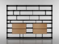 b bookcase 29 – 3d c4d