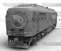 3d locomotive model