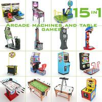 3d max arcade machines table games