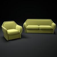 3dsmax creative-bardot-sofa