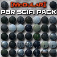 [Modular] PBR SciFi TexturePack