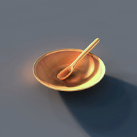 3d obj medieval dishes