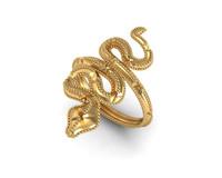 maya snake ring