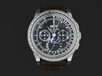 grand watch mens 3d model