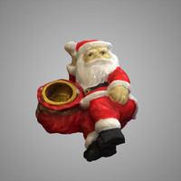 maya laying santa