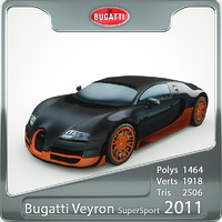 bugatti veyron super sport 3d max