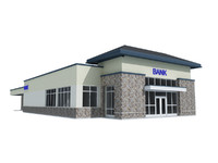3d commercial bank model