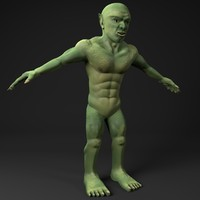 goblin resolution ready 3d model