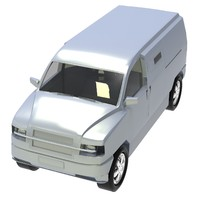3ds max van transport