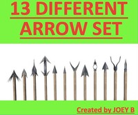 dxf 13 different arrows