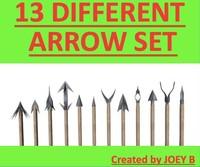 3d 13 different arrows model