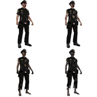 rigged zombie police max
