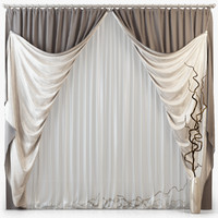 3d tull curtains m14 model