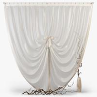 curtains m16 3d max